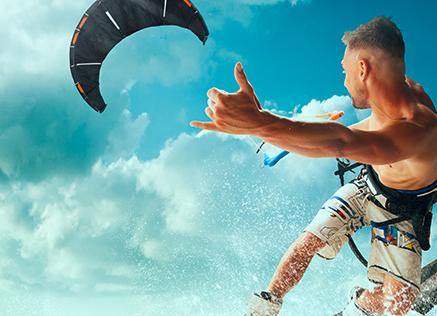 Attrezzatura Kitesurf, Surf e Windsurf