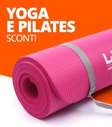 Attrezzi Yoga e Pilates scontati